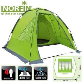 Четырехместная палатка Norfin Zander 4